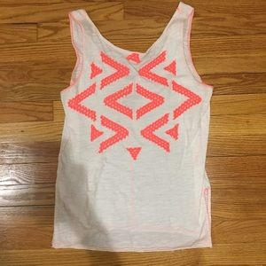 We the Free Neon Lace Tank Top
